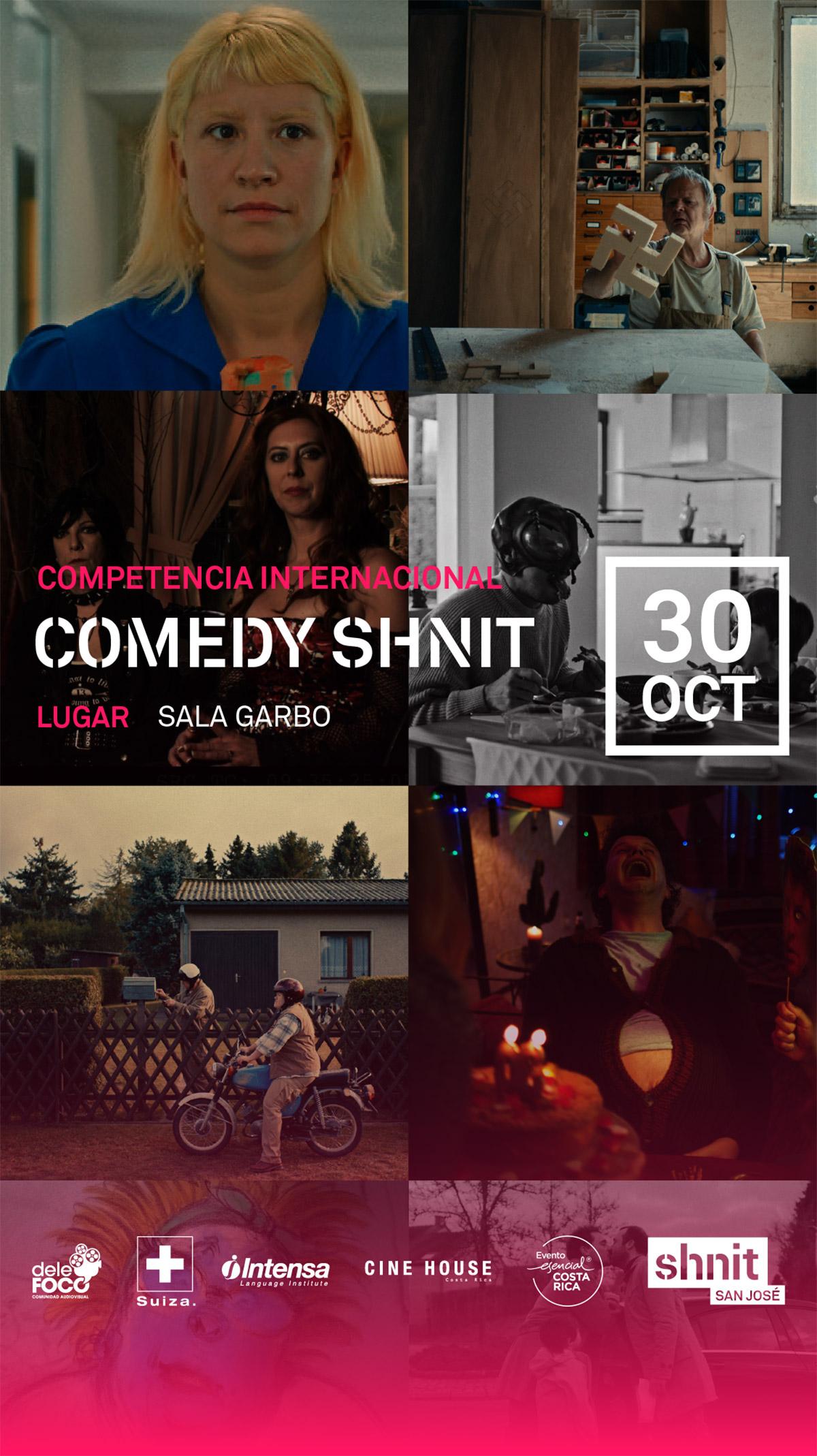 Afiche de Comedy SHNIT