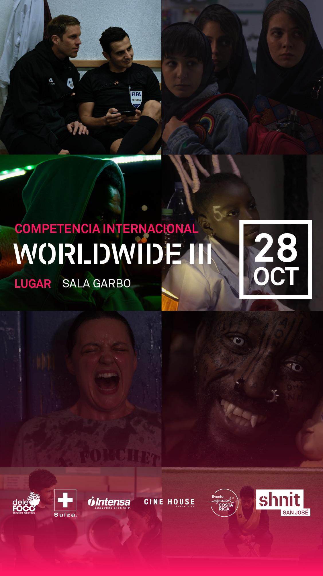 Afiche de Worldwide III SHNIT